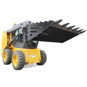 Titan 72 Rock Bucket Attachment Skeleton Loader W Teeth Skid Steer