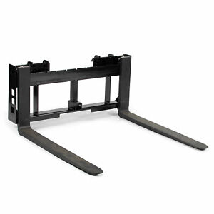 Titan Skid Steer 42 Pallet Fork Trailer Hitch Attachment Bobcat Case Kubota
