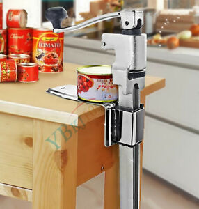 New Commercial Catering Heavy Duty Bench Top Cast Steel Large Can Tin Opener