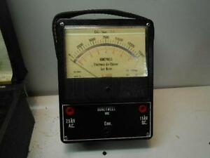 Honeywell Air Cleaner Meter W869a1009 Electronic Meter