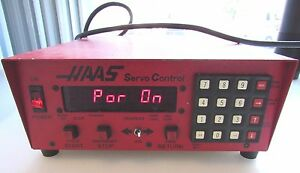 Haas Servo Control Red Haas 17 Pin Serial No 960141
