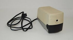 Boston Model 19 Beige Electric Pencil Sharpener Usa Works Great 296a R9934