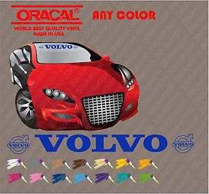 Volvo Vinyl Windshield Banner Decal Sticker Car Sport Racing Truck