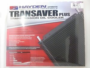 Hayden Transmission Oil Cooler 1677 20 000 Gvw Rv Tow