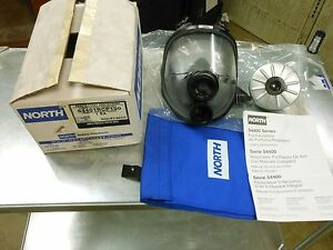 North By Honeywell 54001 5400 Full Face Respirator Kit M l With Filter New