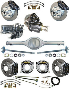 New Suspension Wilwood Brake Set Currie Rear End Posi Trac Gear Booster 677011