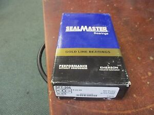 Sealmaster Gold Line Flange Ball Bearing Sft 206 Size 30mm New Surplus