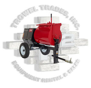 Toro 60220 Ultramix Mmx 858h s Stone 855pm Mortar Mixer 8 Hp Honda Steel Drum