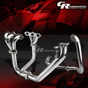 For 98 02 Honda Accord V6 T3 Stainless Racing Turbo Charger Manifold downpipe