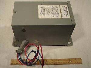 Powertran Pt16 750 Transformer 75kva 120 240v 6 3 3 1a 16 32v 46 9 23 4a 1ph