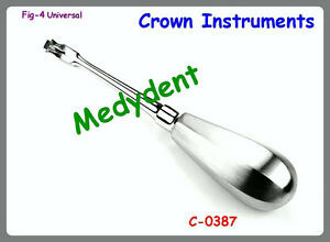 Offset Crown Splitter Remover Elevator Fig 4 Dental Instruments C 0387