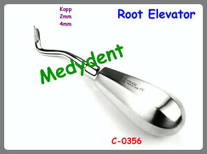 2 Kopp Root Tip Elevator 2mm 4mm Dental Surgical Instruments C 0356