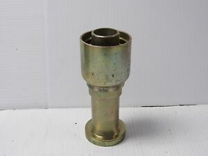 Parker Crimp Hose Fitting 16a71 24 24 16a712424 1 1 2 id Hose 1 1 2 Flange