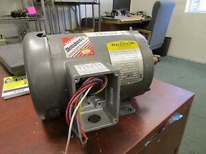 Baldor Motor M3546t 1hp 1740rpm 143t Frame 230 460v 2 8 1 4a New Surplus