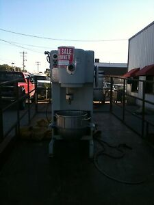 Commercial Two speed Truimph Dough Mixer Floor M Attachments 60 Qweight 1500 P