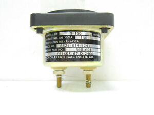 An320 a 150 Hickok Or A m 560 603 Dc Amp 0 150 New Old Stock