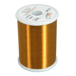 42 Awg Heavy Formvar Copper Magnet Wire 1 0 Lbs Mw15c