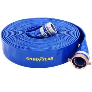 Water Pump Discharge Hose 1 5 X 50 Pvc 4456