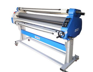 New 1630mm 64 Hot Cold Laminator Roll Laminating Machine With Auto Take Up