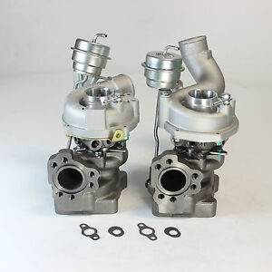 K04 025 K04 026 Pair Twin Turbo Charger For Audi Rs4 S4 A6 Allroda Quattro 2 7l