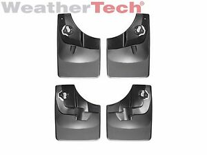 Weathertech No Drill Mudflaps For Ford F 150 2015 2020 Front Rear Set