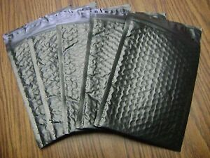 50 Black 10x15 Bubble Mailer Self Seal Envelope Padded Protective Mailer