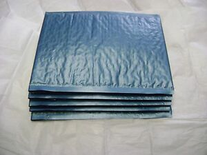 50 Steel Blue 10x15 Bubble Mailer Self Seal Envelope Padded Protective Mailer