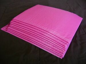 50 Hot Pink 10x15 Bubble Mailer Self Seal Envelope Padded Protective Mailer