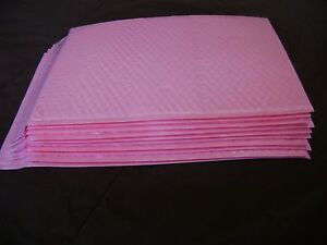 50 Light Pink 10x15 Bubble Mailer Self Seal Envelope Padded Protective Mailer