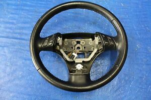 2006 Mazda Speed 6 Oem Factory Steering Wheel Assembly 2 3l Disi Mzr L3k9 6025