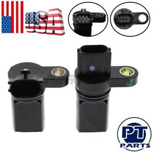 Oem 2pcs Camshaft Crankshaft Position Sensors Left Right For Infiniti Nissan