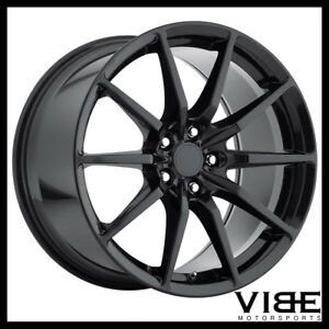 19 Mrr M350 Black Concave Flow Forged Wheels Rims Fits Ford Mustang Gt Gt500