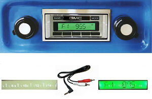1967 1972 Gmc Truck Jimmy Radio Free Aux Cable Stereo 230