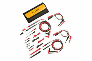 Fluke Tl81a Deluxe Electronic Test Lead Set Pouch Leads probes