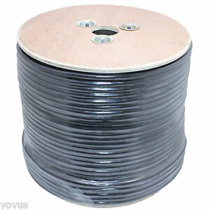 500 Ft Reel Bulk Shielded Balanced Xlr Trs Wire Mic Cord Microphone Audio Cable