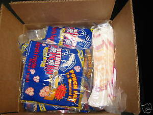 Popcorn Serving Kit For Party Of 100 includes Bags salt seeds oil