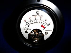 265 192 A m Audio Level 20 3 Db New Old Stock 2 3 4 Round