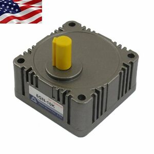 Us Metal Tooth Gear Head Box 5gn 10 1 Speed Reducer Ratio For Ac dc Gear Motor