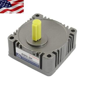 Us Ship Metal Tooth Gear Head 4gn 3 1 Speed Reducer Ratio For Ac Dc Geared Motor