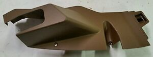 John Deere Oem Part R187566 Tractor Cab Upholstery Left Rear Post Cover Brown