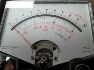 914 3 Triplett Dual Db Meter New Old Stock 4 1 2