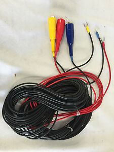 3 Piece Color Coded Test Lead Set For Digital Ground Resist