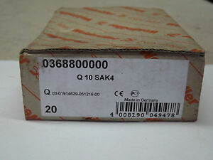 Weidmuller Q 10 Sak4 0368800000 Terminal Block Jumper 10 Way New Box Of 20 Strip