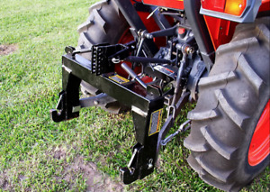 3 point Quick Hitch Category 1 Farming Tractor Implement Attachments Hook Clev