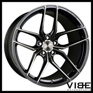18 Stance Sf03 18x8 5 Black Forged Concave Wheels Rims Fits Audi C5 A6