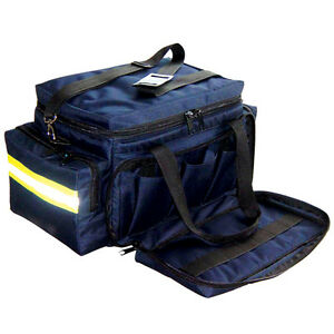 Line2design Emt Paramedic First Aid Professional Trauma Bag Large Navy Blue