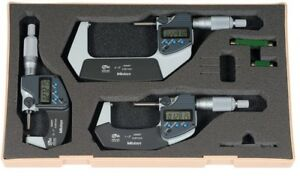 293 960 30 Mitutoyo Digital Micrometer Set 0 3