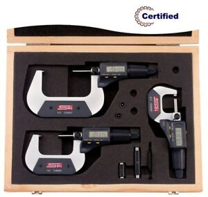11 553 5 Spi Digital Micrometer Set 0 3