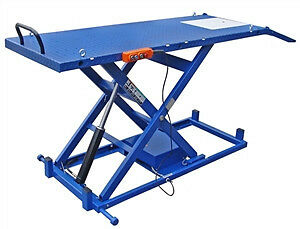 Motorcycle Lift Table Electric Hydraulic M 2200 Ieh 2200 Ideal
