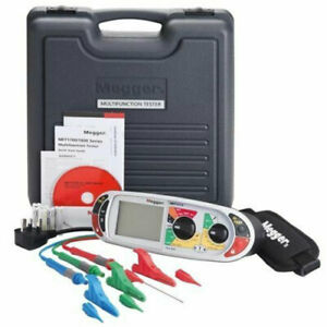 Megger Mft1711 18th Edition Multifunction Installation Tester W Clips And Leads